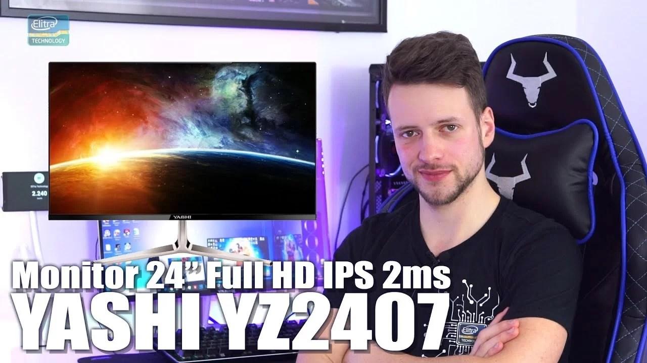 Recensione Monitor Full HD 24″ IPS 2ms – YASHI YZ2407