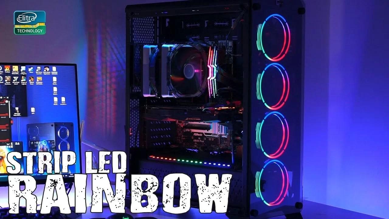 STRIP LED RAINBOW – come avere più FPS in gioco!