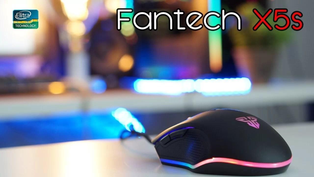 Mouse da gaming ARGB a 13€ – Fantech X5s