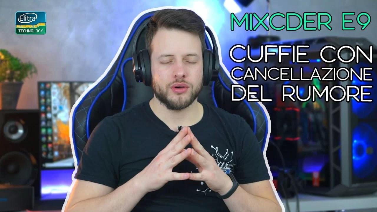 Cuffie bluetooth con cancellazione del rumore – MIXCDER E9