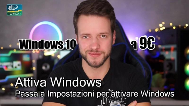Acquista WINDOWS 10 a 9€