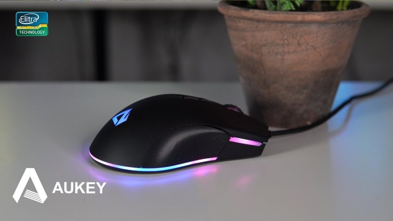 Mouse economico da gaming FINGERTIP AUKEY