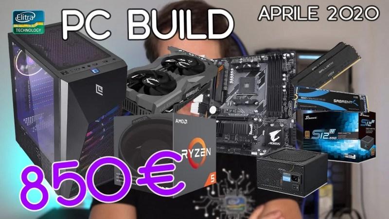 PC BUILD 850€ Gaming Full HD 144Hz ULTRA | QHD 60fps