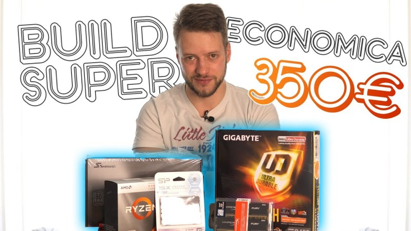 Unboxing PC GAMING 350€ – Build SUPER economica