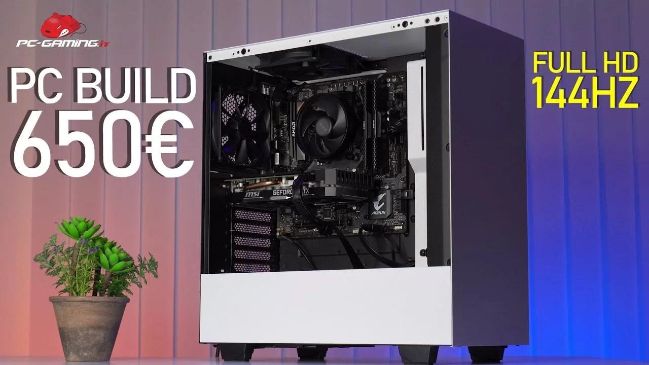 PC BUILD Gaming 650€ Full HD 144Hz