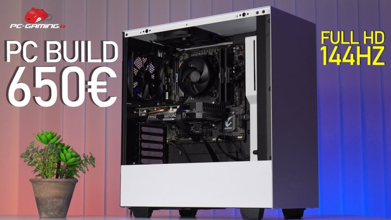 PC BUILD Gaming 650€ Full HD 144Hz