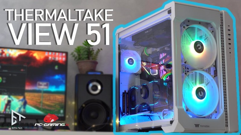 Thermaltake View 51 TG Snow ARG – Big Cube Case