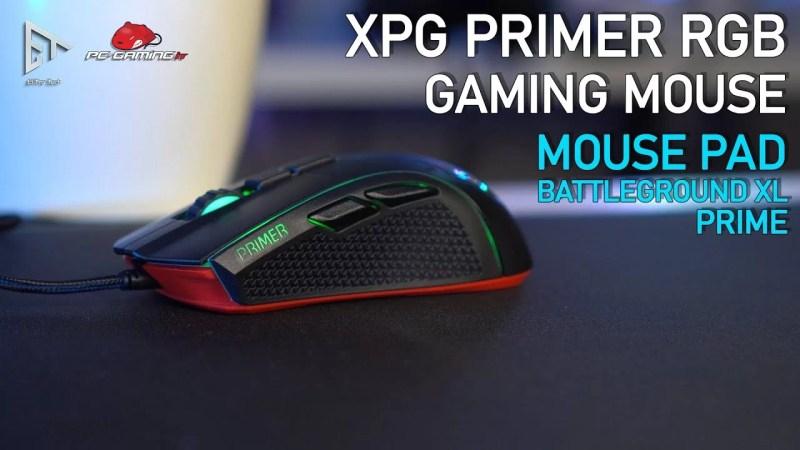 XPG PRIMER RGB GAMING MOUSE | Bello ed Economico