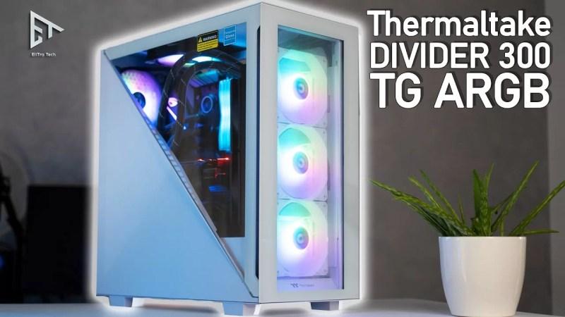 CASE Thermaltake Divider 300 TG ARGB – Recensione completa
