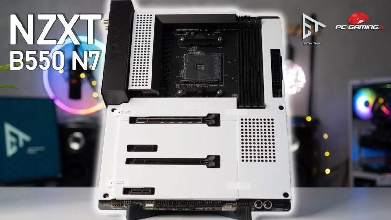 PC BUILD NZXT – Anteprima B550 N7 la nuova scheda madre di casa NZXT