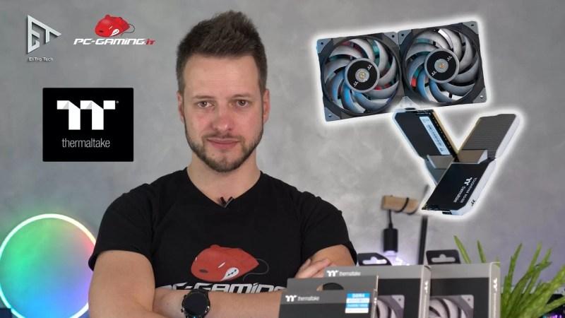 RAM TOUGHRAM XG RGB 4000MHz e Ventole TOUGHFAN 12 Turbo | Due bombe THERMALTAKE