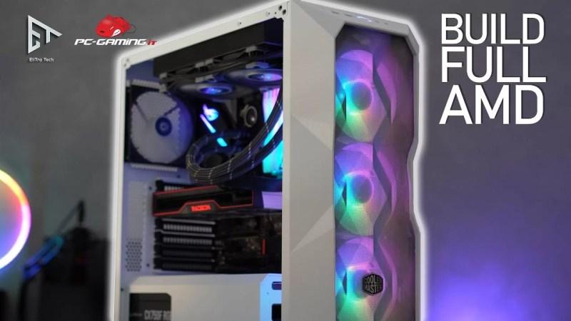 PC BUILD Full AMD con Ryzen 5600X e RX 6800 😎
