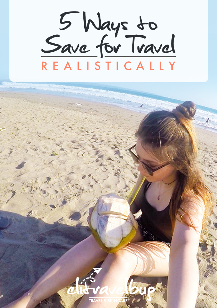 save for travel - pin