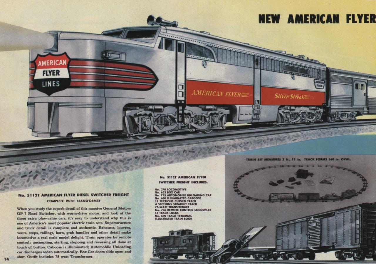American Flyer trains
