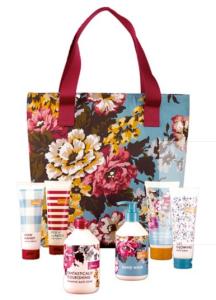 Jules Blooming Brilliant Weekend Toiletries Bag