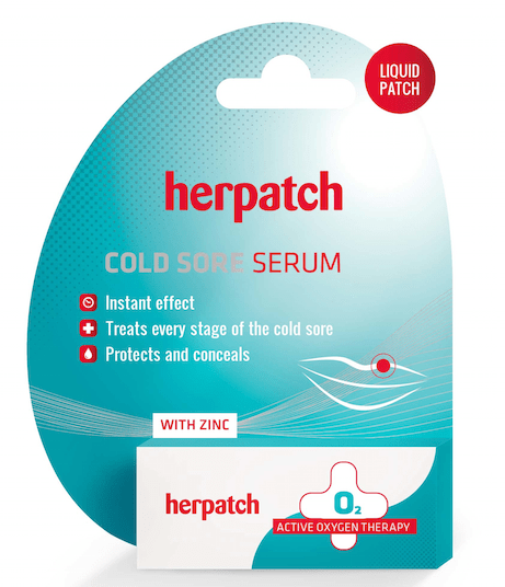 Herpatch liquid patch
