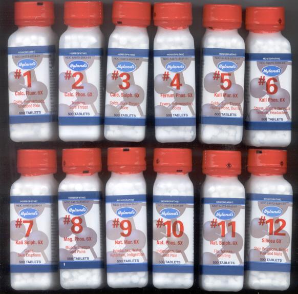 ... Salts, Schussler Tissue Salts, Biochemic Remedies, 12 Tissue Remedies