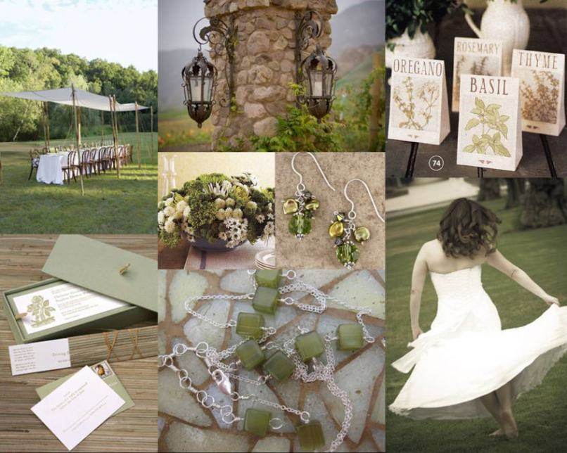 Olive Green Wedding Decor Why Santa Claus