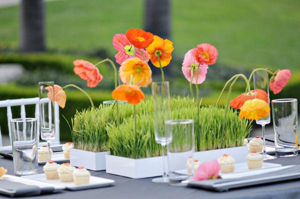 Tabletop Inspiration Poppies Elizabeth Anne Designs