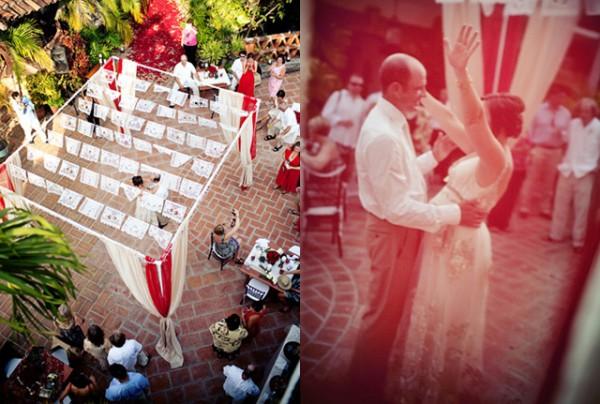 Papel-Picado-Mexican-Wedding-Ceremony-Arch