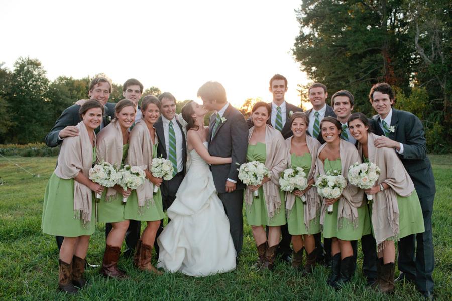 Classic Outdoor North Carolina Wedding From Kellie Kano