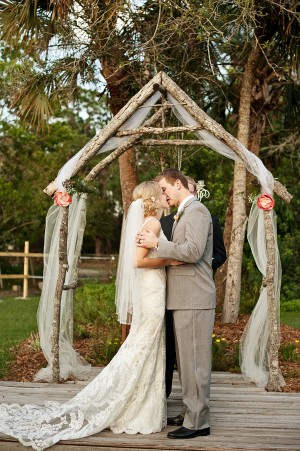 Pink Ombre Wedding From Amanda McMahon Photography