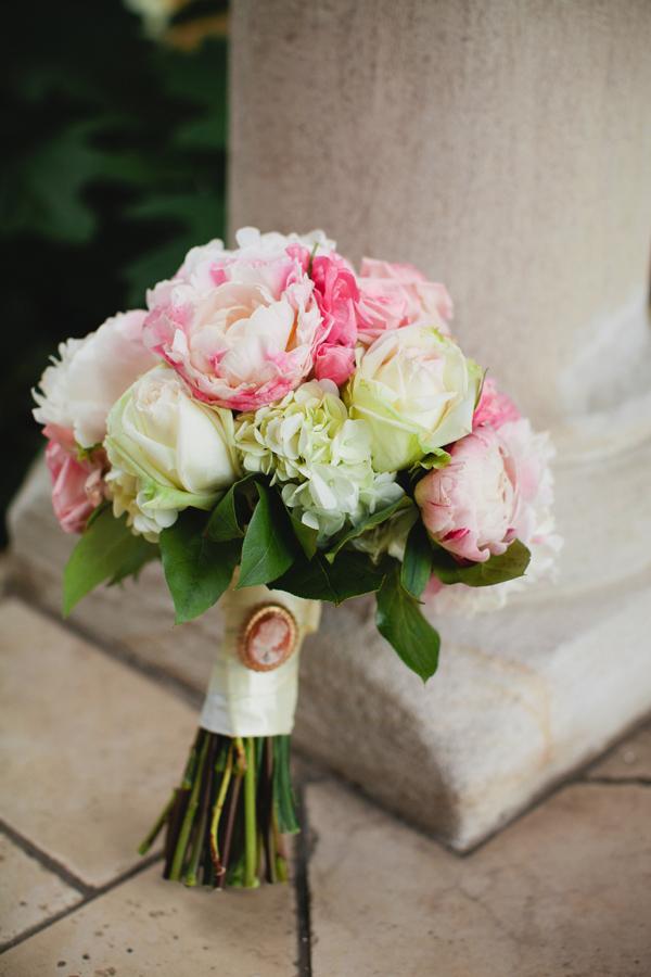 Rose And Peony Wedding Bouquet Elizabeth Anne Designs