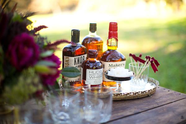 Wedding Drinks Whiskey Bar Elizabeth Anne Designs The