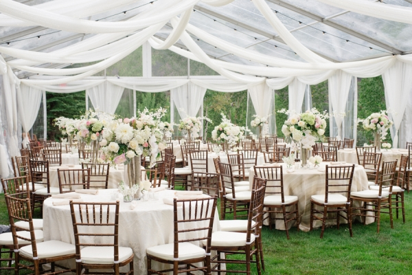 Elegant Rustic Reception Elizabeth Anne Designs The