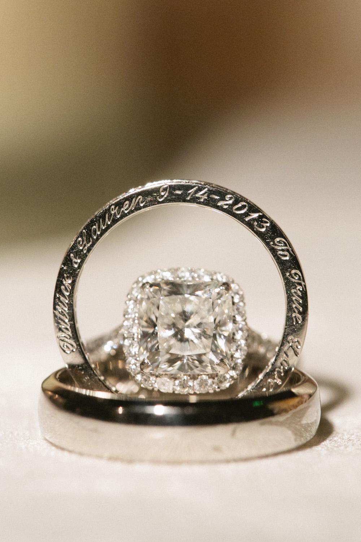 Engraved Wedding Ring Elizabeth Anne Designs The
