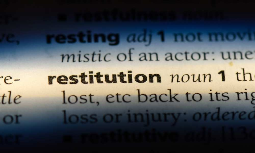 restitution calculations