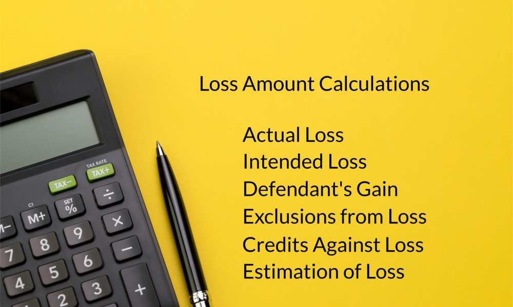 how is the loss amount calculated in a fraud case in federal court