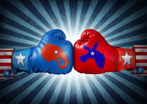 US election fight
