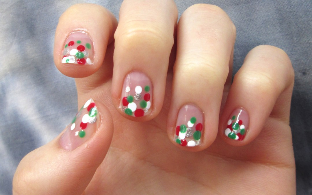 Christmas / Cinco De Mayo Bubble Nails
