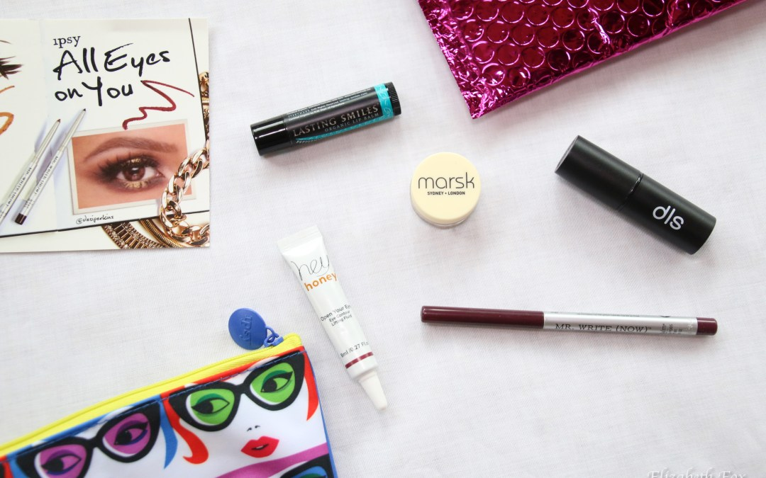 """Ipsy """"All Eyes On You"""" January 2016 Glam Bag"""