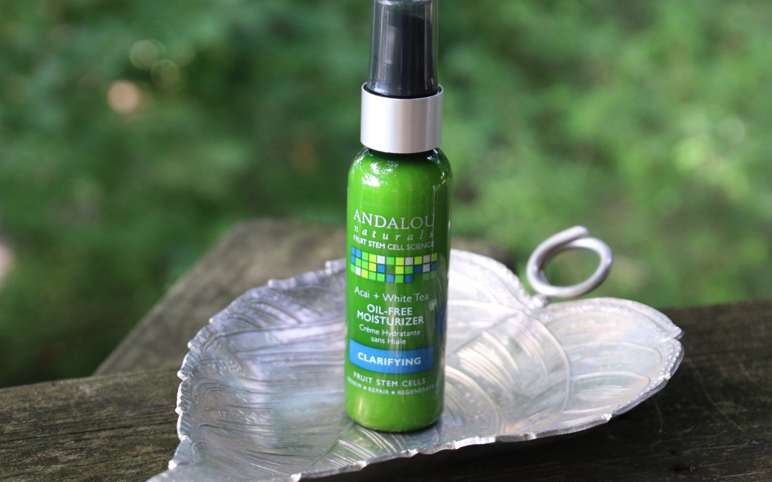 Andalou Naturals Oil Free Clarifying Moisturizer | Review