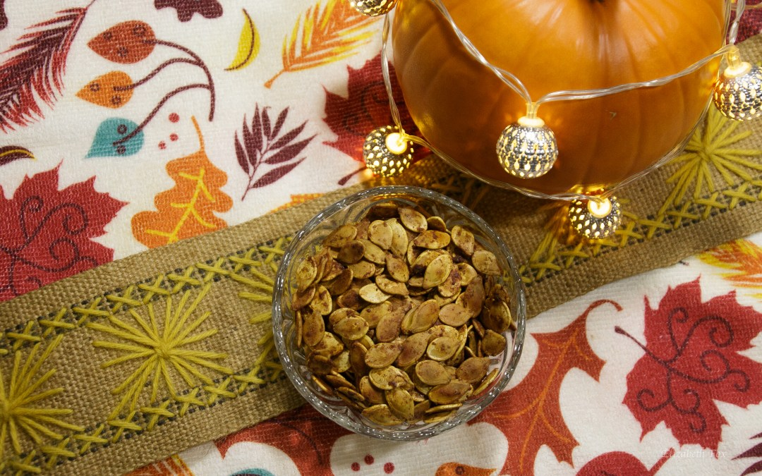 Pumpkin Spice Pumpkin Seeds | Recipe