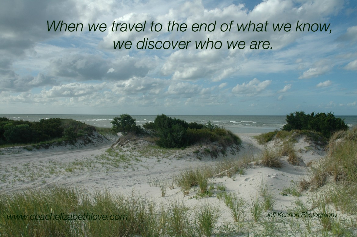 when we travel to the end of what we know