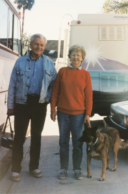 1992 Mom and Dad and Elka