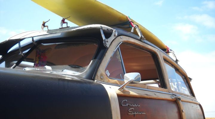 Classic Woodie Cars