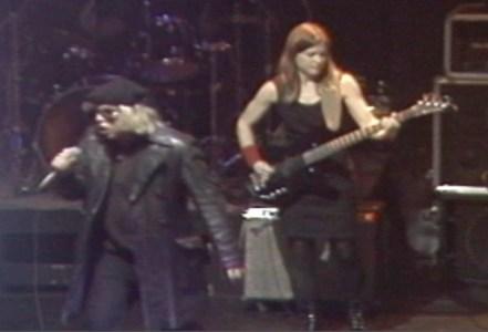 Jeffrey Lee Pierce and Elizabeth Montague in 1995