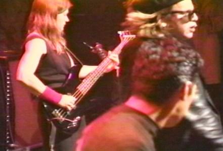 Elizabeth Montague and Jeffrey Lee Pierce in 1995