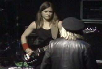 Elizabeth Montague and Jeffrey Lee Pierce in 1995. Video ©David Travis