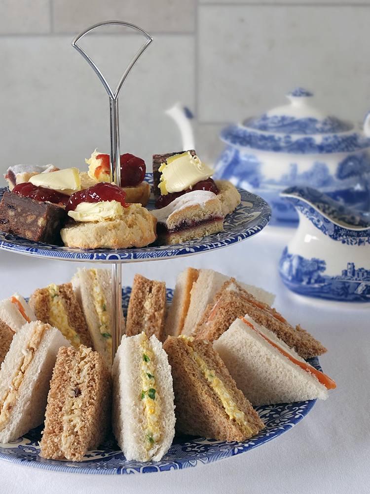 A Trio Of Sandwiches For Afternoon Tea Elizabeth S