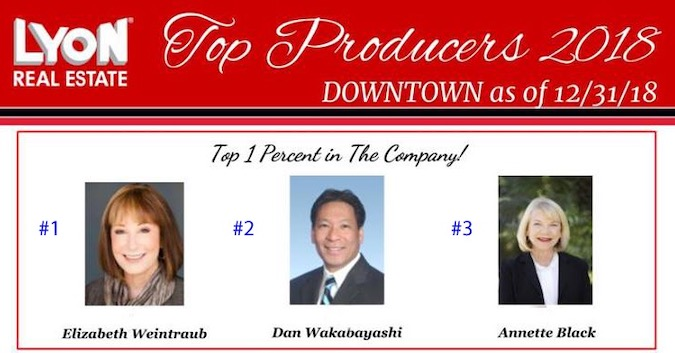 The Top Agents At Lyon Real Estate Downtown Office