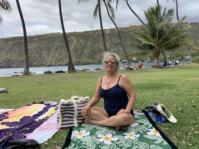 Photos of Manini Beach at Honaunau on Big Island