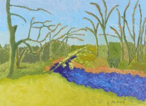 Optimism at Spring - Oil Painting