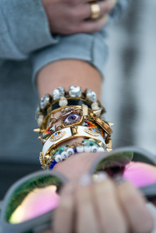 The Village Vogue | A Fashion and Lifestyle Blog by Eliza Higgins | Evil Eye Bangles
