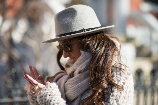 The Village Vogue - Club Monaco Vienna Hat