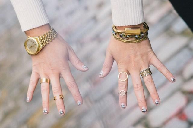 Campbell O-Chain Ring | thevillagevogue.com